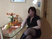 Порно с мамками и предметами
